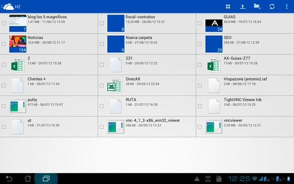 Skydrive ya disponible para Android, Imagen 1