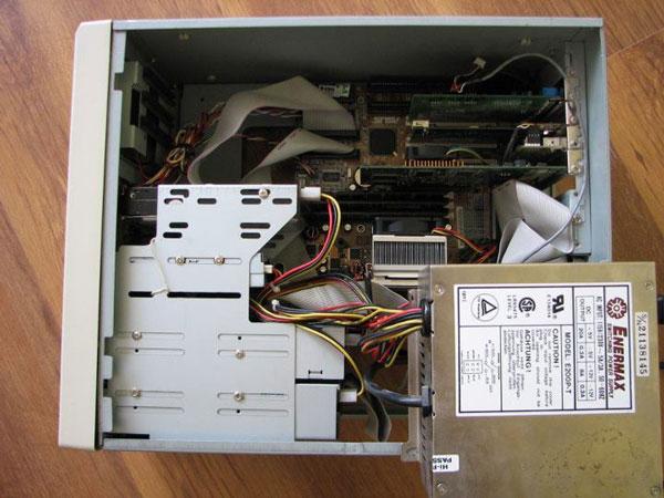 Enermax E200P-T. 22 años de funcionamiento sin fallos, Imagen 1
