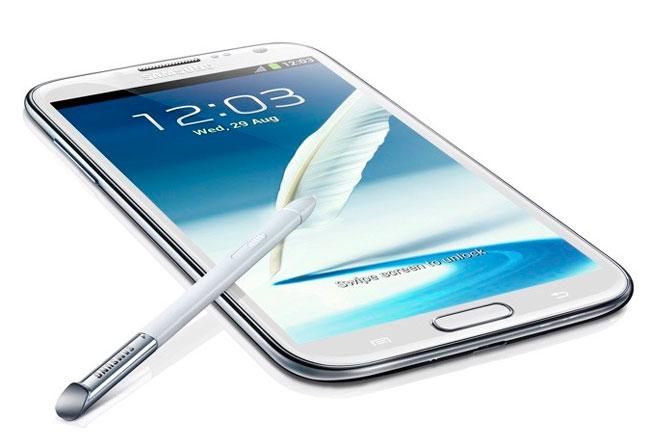 Samsung Galaxy Note II, Imagen 1