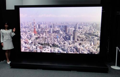IFA 2012. Panasonic Super Hi-Vision. Televisión de 145 pulgadas con resolución 8k, Imagen 1