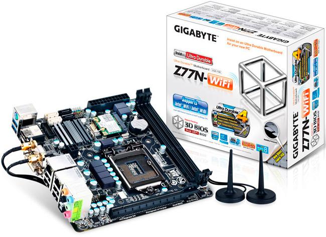 Placas Mini-ITX con chipset Z77 y H77 de Gigabyte, Imagen 1