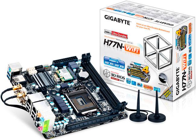 Placas Mini-ITX con chipset Z77 y H77 de Gigabyte, Imagen 2