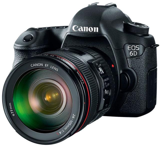 Canon EOS 6D, sensor Full-Frame en una carcasa compacta, Imagen 1