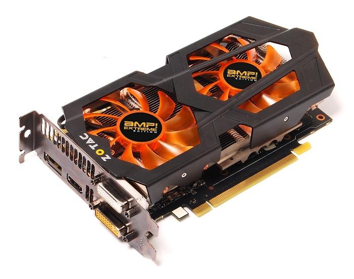Zotac Geforce GTX 600 Ti Amp! Extreme Edition, Imagen 1