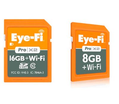 Eye-Fi actualiza sus tarjetas SD con WiFi Eye-Fi Pro X2, Imagen 1