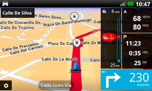 TomTom lanza su navegador GPS para Android, Imagen 1