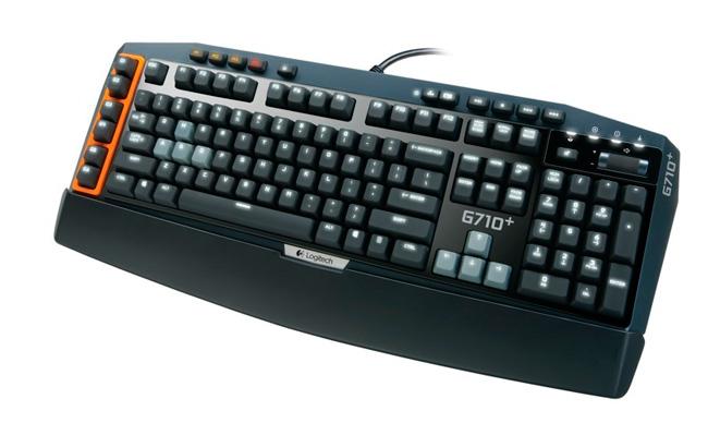 Logitech G710+, teclado gaming mecánico, Imagen 1