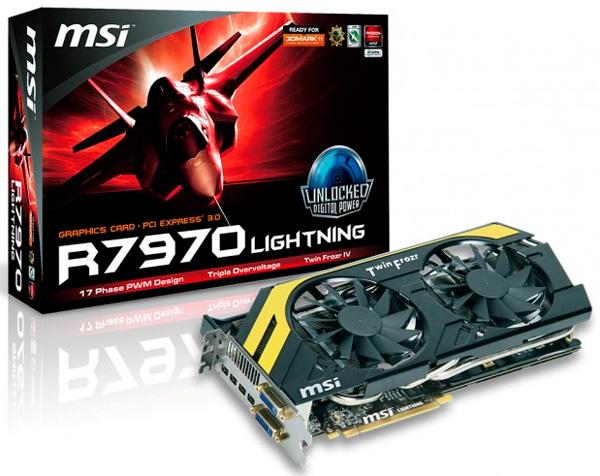 MSI Radeon HD 7970 Lightning Boost Edition, Imagen 1