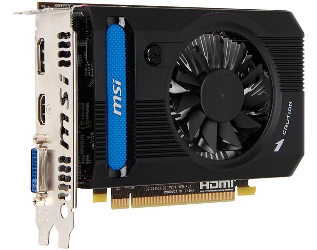 MSI presenta una HD 7750 con 2 GB de RAM, Imagen 2