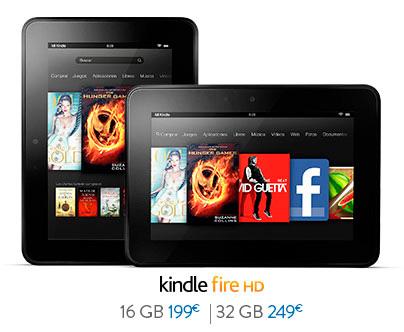 Llegan los Kindle Fire y Fire HD a España, Imagen 1