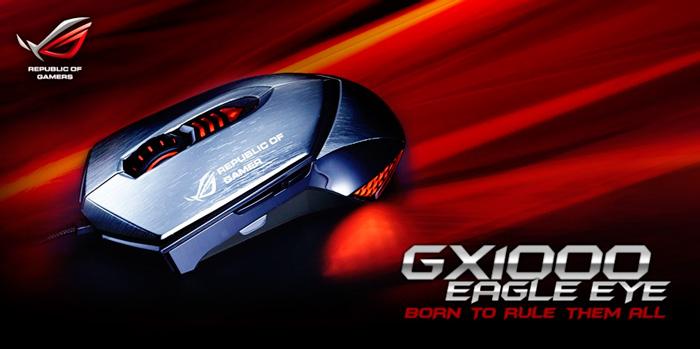 ASUS ROG GX1000, ratón laser para juegos, Imagen 1