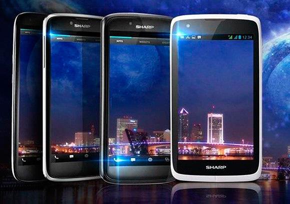 Sharp muestra un smartphone de 5 pulgadas y 1080p, Imagen 1