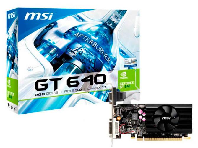 MSI muestra una GeForce GT640 de perfil bajo, Imagen 1