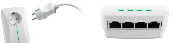 PLC ASUS PL-X52P con puertos Ethernet, Imagen 2