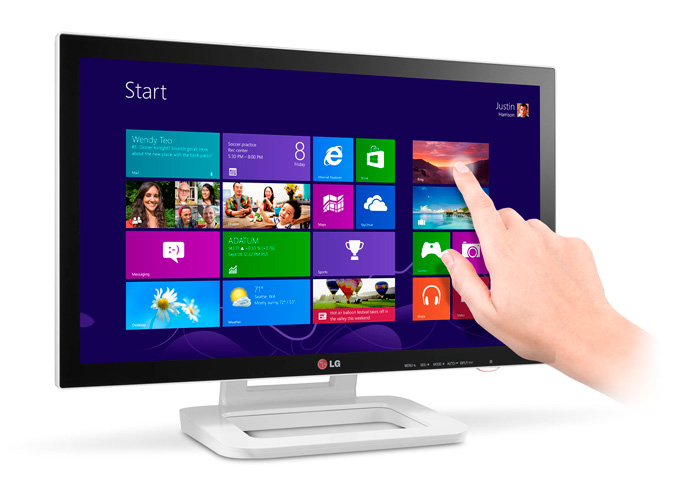 Touch 10, Monitor táctil de LG, Imagen 1