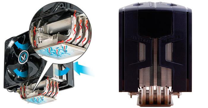 Disipador de CPU Sapphire Vapor-X, Imagen 2
