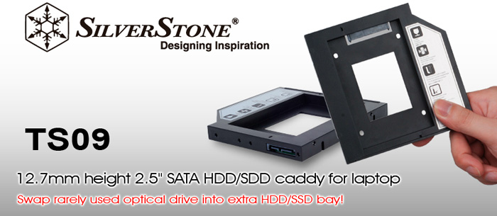SilverStone Treasure nos permite añadir un disco duro interno al portátil, Imagen 1