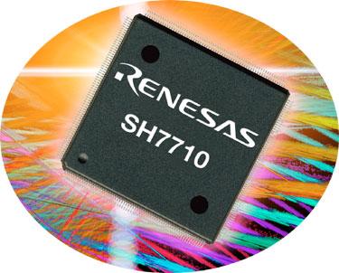 Nuevo microprocesador Risc SH7710 de 32 bits de Renesas, Imagen 1