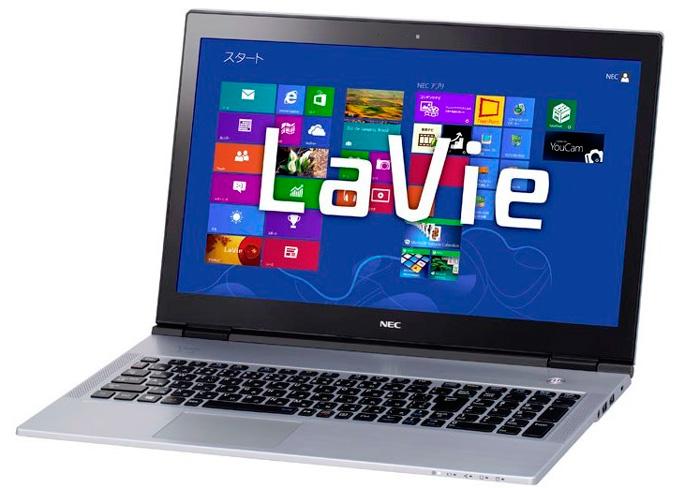 NEC LaVie Xm el Ultrabook de 15 pulgadas más fino del mundo, Imagen 1