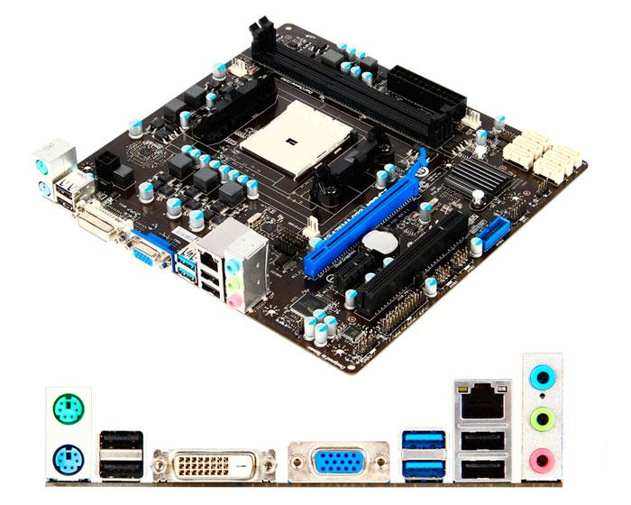 MSI FM2-A75MA-P33, nueva placa para APUs AMD Trinity, Imagen 2
