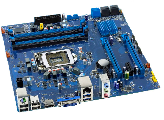 Intel presenta una placa base con Virtu MVP y formato microATX, Imagen 2