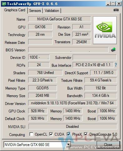 Se filtra la Nvidia GeForce GTX 660 SE, Imagen 2