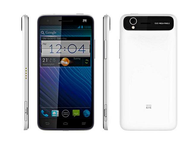 CES 2013. ZTE Grand S, otro smartphone de 5 pulgadas, Imagen 1
