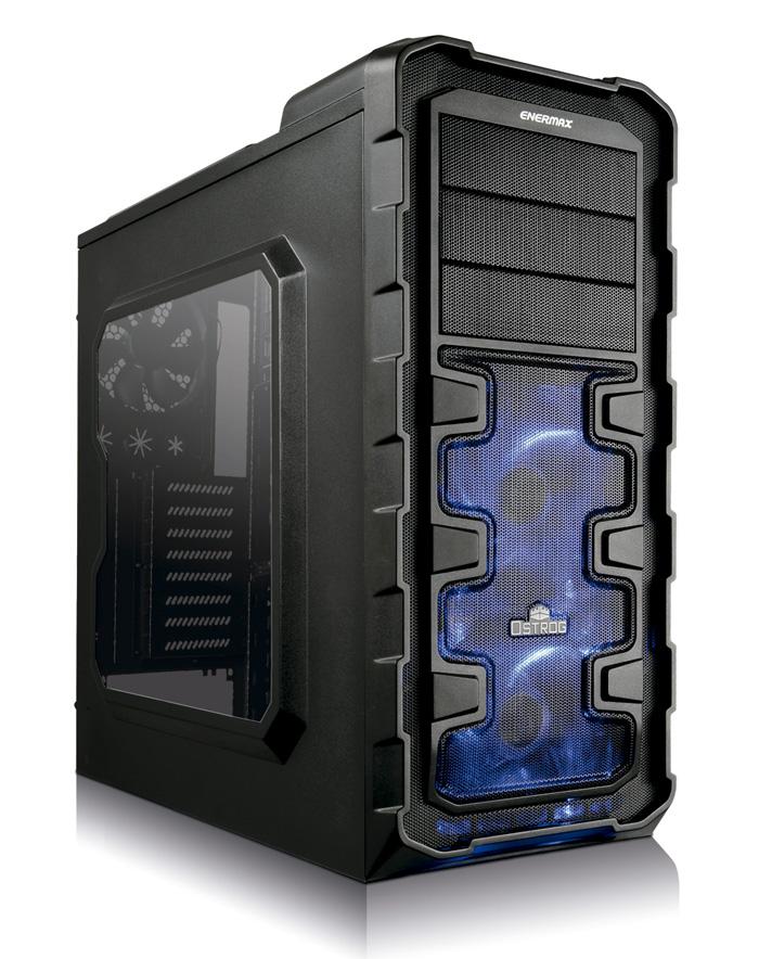 Enermax Ostrog GT, nueva caja en formato semi-torre, Imagen 1
