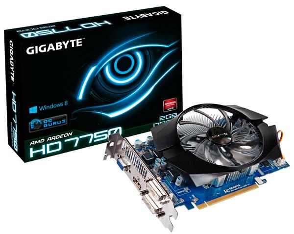 Gigabyte lanza una Radeon HD 7750 con 2 GB de RAM, Imagen 1