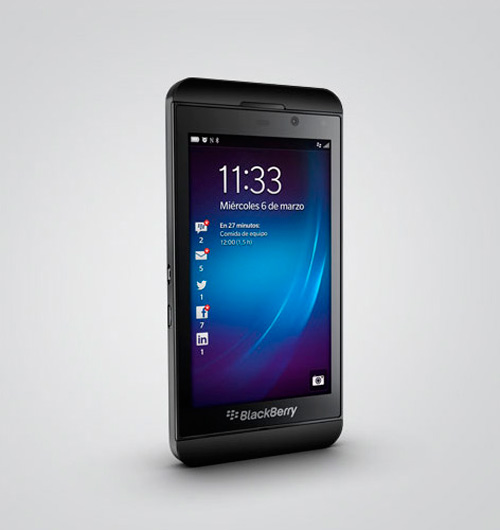 Nuevo Blackberry Z10, Imagen 1