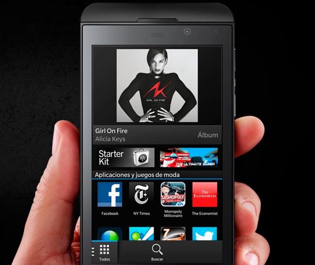 Nuevo Blackberry Z10, Imagen 2