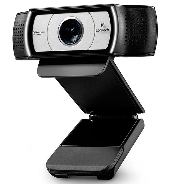 Logitech Webcam C930e con lente de 90 grados, Imagen 1
