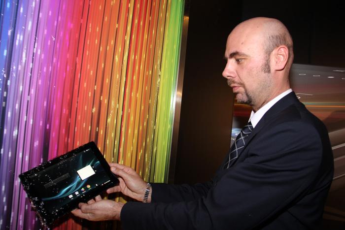 MWC 2013. Sony Xperia Z y Xperia Tablet Z, Imagen 1
