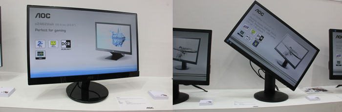 CeBIT 2013. Monitores AOC, Imagen 2