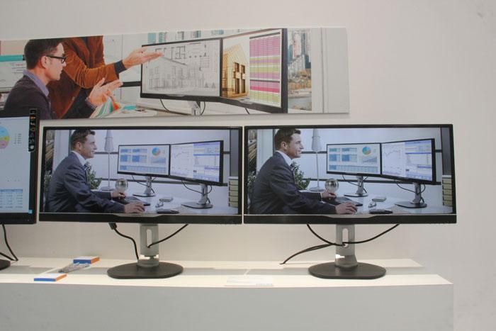 CeBIT 2013. Philips enseña sus nuevos modelos de monitores, Imagen 1