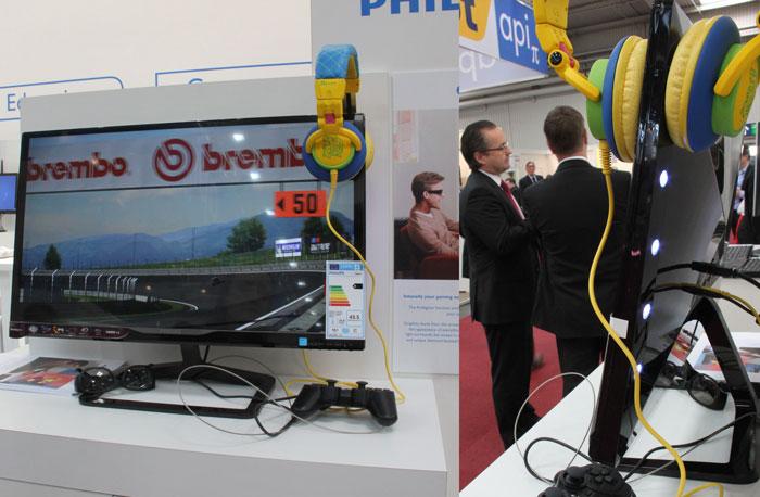 CeBIT 2013. Philips enseña sus nuevos modelos de monitores, Imagen 2