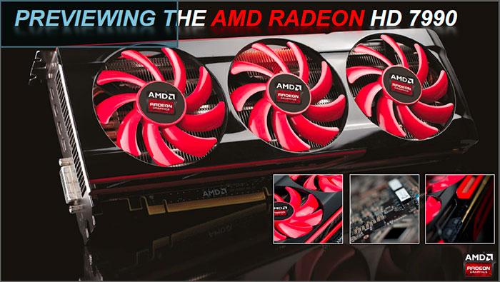 AMD muestra ligeramente la nueva Radeon 7990, Imagen 1