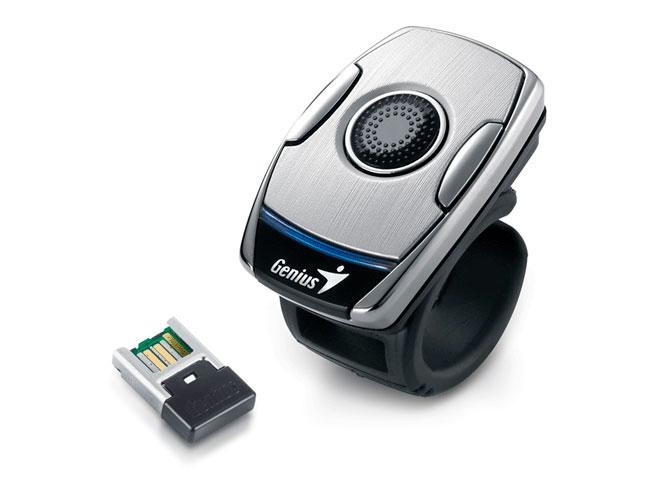 Genius lanza la segunda versión de su Ring Mouse, un ratón para el dedo, Imagen 1
