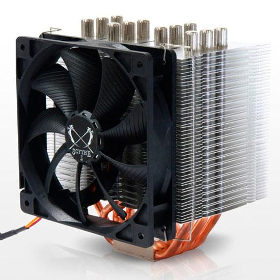 Nuevos disipadores de CPU de Scythe con distintos diseños, Imagen 1