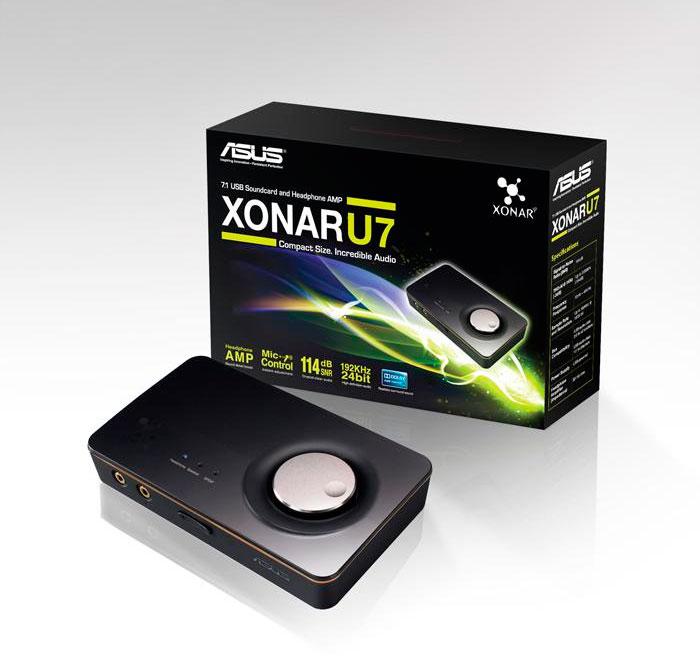 ASUS anuncia la Xonar U7, una nueva tarjeta de sonido USB de 8 canales, Imagen 1