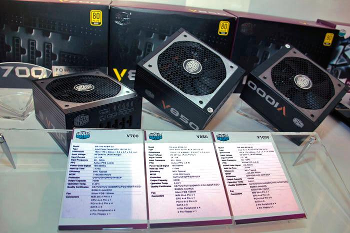 Cooler Master lanza las fuentes de alimentación V-Series con PFC activo y hasta 1000W, Imagen 3