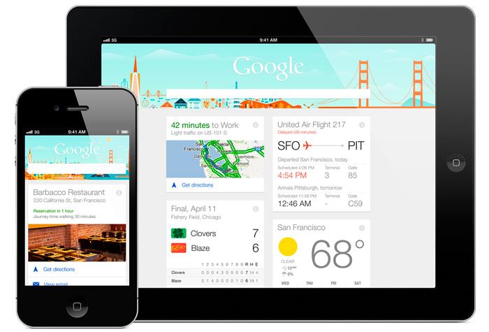 Google Now, el asistente de búsquedas de Google, ya disponible para iPhone, Imagen 1