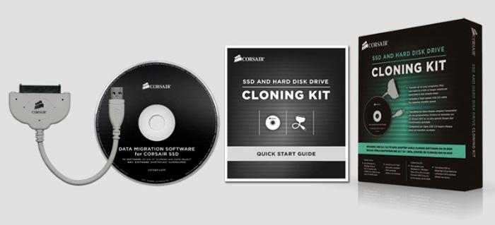 Corsair lanza un kit para clonar discos duros y SSD de manera sencilla, Imagen 1