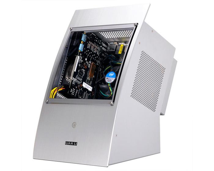 Presentada oficialmente la torre Lian LI PC-Q30, con formato miniITX y ventana frontal, Imagen 1