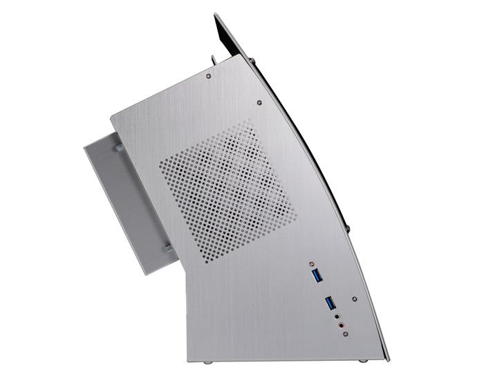 Presentada oficialmente la torre Lian LI PC-Q30, con formato miniITX y ventana frontal, Imagen 2