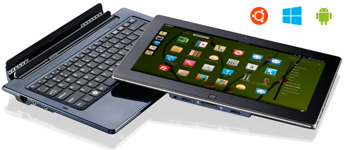 Ekoore Python S3, tablet convertible con Windows 8, Linux y Android, Imagen 2