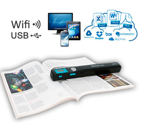 IRIS presenta un escáner portátil para documentos con Wi-Fi, Imagen 1