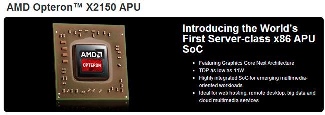 AMD desvela la nueva familia de procesadores para servidores Opteron Serie X, Imagen 1