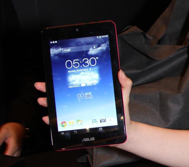 Computex 2013. ASUS. MeMO Pad HD, tablets económicas con resolución HD, Imagen 1