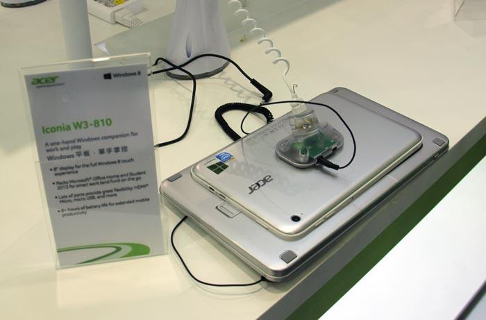 Computex 2013. ACER. Iconia W3, tablet de 8 pulgadas con Windows 8 de escritorio, Imagen 3